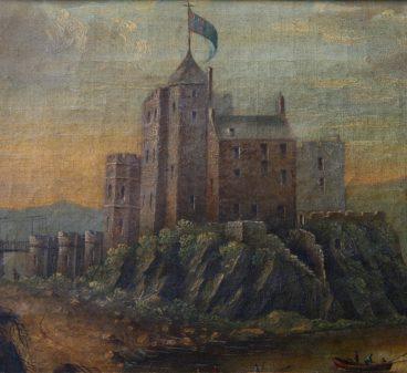 Dunvegan Castle Circa 1779-min