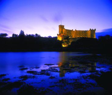Dunvegan Castle - Evening Fallsa