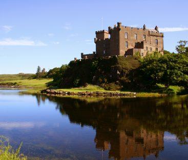 Dunvegan Castle - Reflections1b