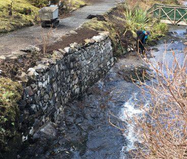 Water Garden Bridge Repairs  (9)