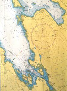 Chart Loch Dunvegan detail