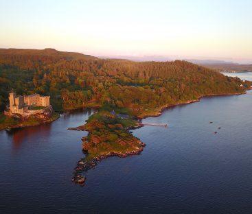 Dunvegan Castle Aerial