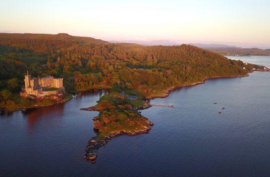 Dunvegan Castle Aerial (a)