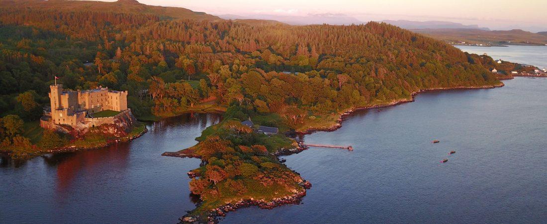 Dunvegan Castle Aerial (a)-min