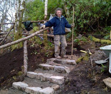 New steps woodland walk 2011 damian hunter a